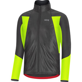 GORE WEAR C5 Veste Gore-Tex Infinium Soft Lined Thermo Homme, black/neon yellow